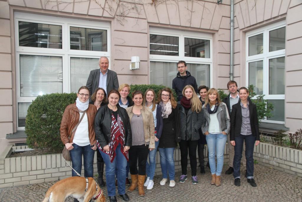 Die AEJ-Mitglieder in Berlin