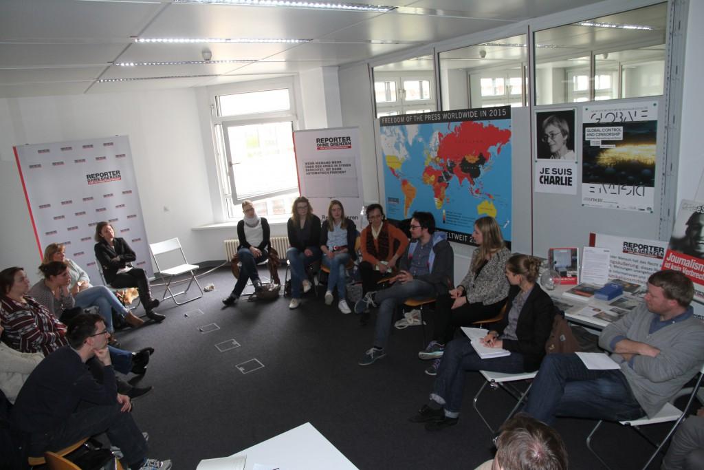 """Mitgliederversammlung bei """"Reporter ohne Grenzen"""""""