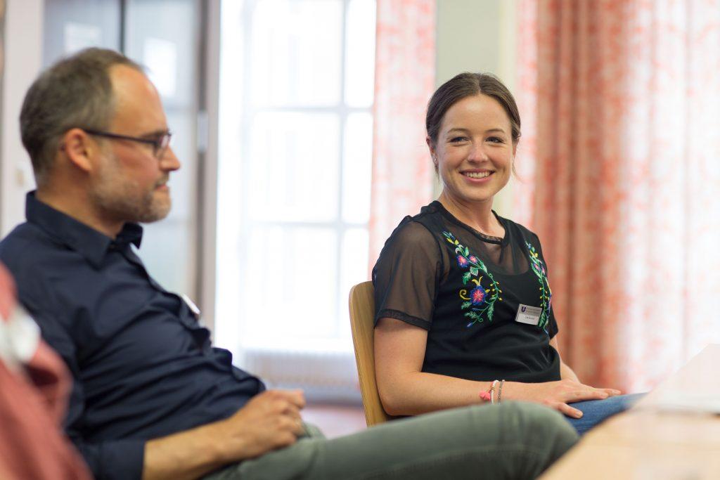 Lea Reinhard hat nach ihrem Bachelor bei Radio Bremen volontiert. Foto: C. Klenk