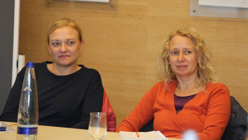 zwei Teilnehmerinnen